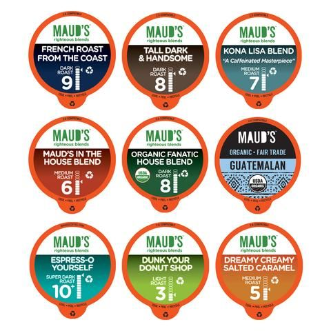 Maud's Coffee Variety Pack - Recyclable Coffee Pods