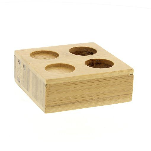 GreenLeaf Bamboo Napkin Tray Double