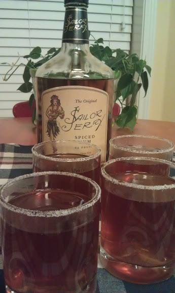 Spiked Spiced Apple Cider (Tried this...it is SO deliciously and sinfully good...Think I will serve it at the end of day this Thanksgiving....)