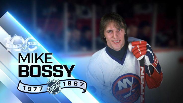 Mike Bossy had record nine straight 50-goal seasons