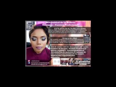 Academia  profesional  de belleza Tizayuca Hidalgo - YouTube