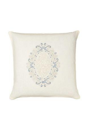 70% OFF 1891 by SFERRA Claribel Pillow, Eggshell