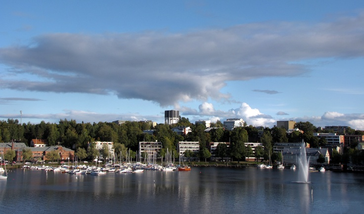 Lappeenranta harbour, Finland