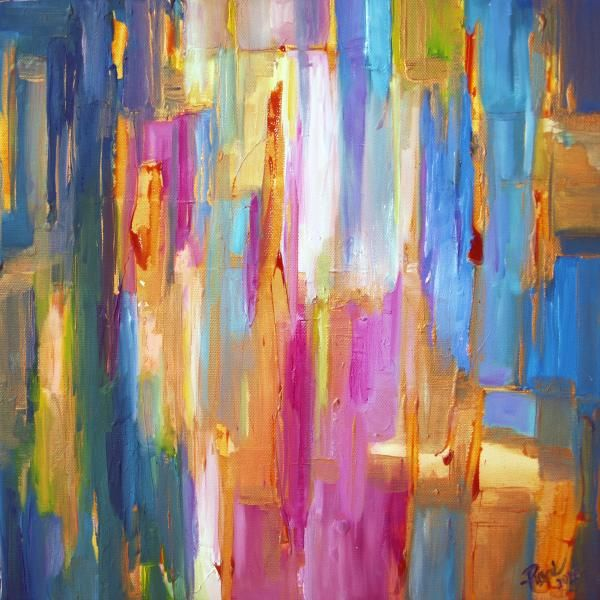 ARTCOSMOS.com: Striped by Ann Pearly, (Painting / Abstract), Oil on Canvas. Available on ARTCOSMOS.com. Discover unique artworks and learn more about the artists, watch videos about their lives, how they work and what inspires them!