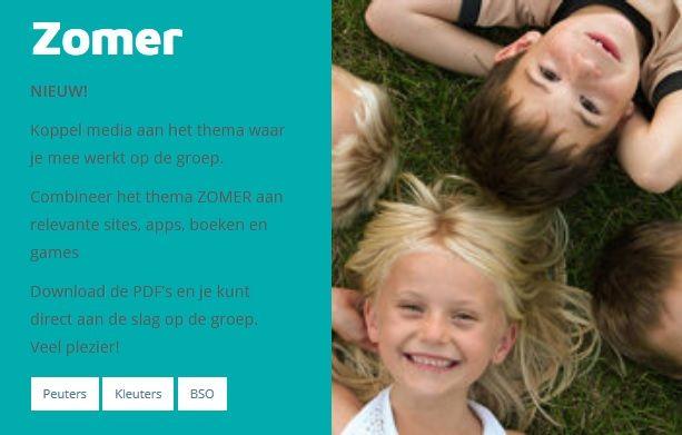 Het is vandaag officieel zomer! Hoog tijd voor een bijpassende thema-uitwerking. Wij hebben geschikte media rondom het thema 'Zomer' geselecteerd en leggen uit hoe je deze media kan inzetten in de opvang, kleuterklas of op de bso. Veel plezier! http://www.kindmedia.nl/aan-de-slag/ #kindenmedia #zomer #zomervakantie #mediaopvoeding #mediawijsheid #kinderen #apps #games #film #boek #tips #spelletjes #online #offline
