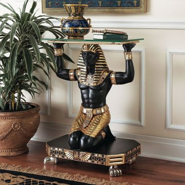 Servant To The Pharaoh Glass Topped Console Table   Best Sellers Egyptian    Egyptian   Part 85