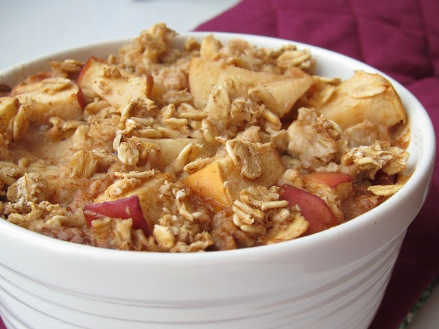Apple pie baked oatmeal | Inspirations | Pinterest