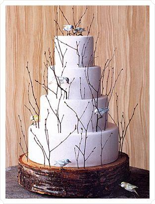 :): Wedding Ideas, Winter Wedding, Wedding Cakes, Dream Wedding, Weddingideas, Birds, Weddingcake