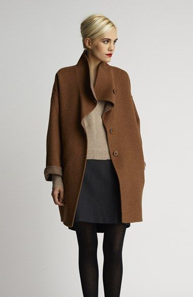 Alpaca Blend Double Face Coat - from @nordstrom #nordstrom