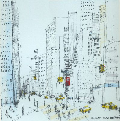 Madison Avenue by Clare Caulfield - beautiful! #wherewebelong