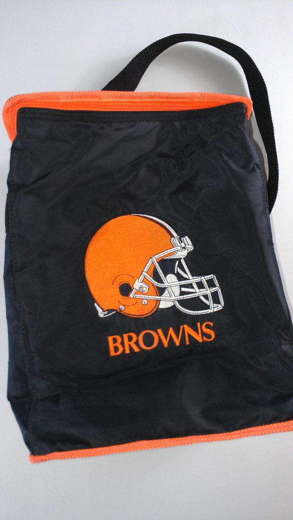 Cleveland Browns NFL Team Vintage Insulated Cooler http://etsy.me/1AIMhU5 #etsy #90s #dawgpound #gobrowns