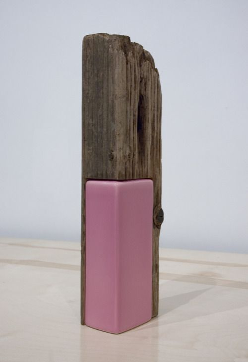 Alex Chitty wood + ceramic, contemporary sculpture, escultura contemporánea, sculpture contemporaine