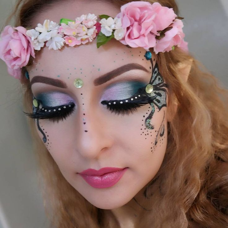 fairy costume makeup ideas popsugar beauty photo 10 - Fairy Halloween Makeup Ideas