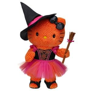 Halloween: Orange 'Hello Kitty' Witch