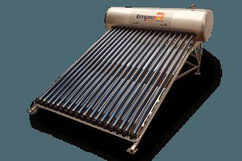Emprosol es un Calentador #Solar Comapny en #México, que fabrica varios calentadores solares como la gravedad, la pipa de calor, de panel plano, boiler solar, calentador solar industrial, etc. Para comprar calentador solar a precios razonables visitan Emprosol.