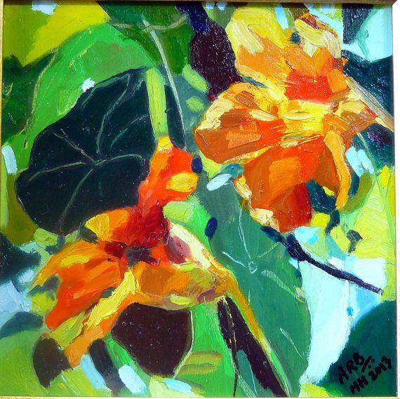 Kunst Ölgemälde handgemacht noch leben original von ArtsAnita, $165.00