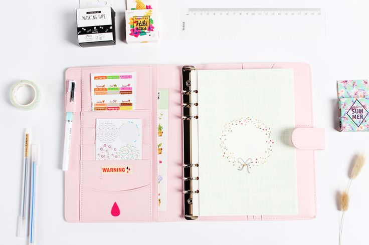 Creative Refilling Planner Set
