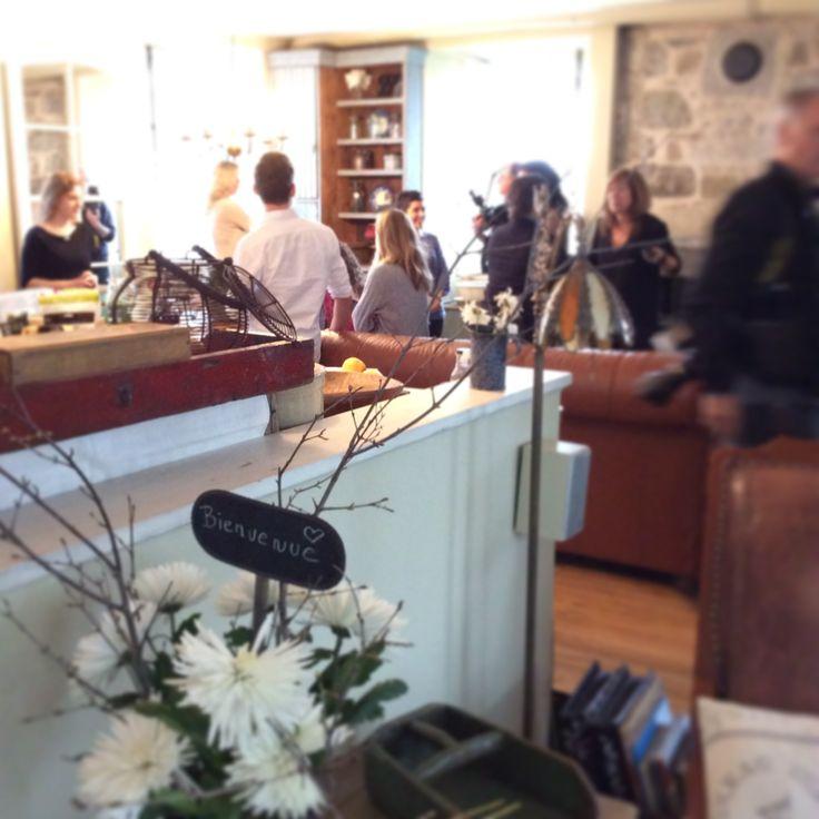 Visite chez Jacynthe René. #VIVE moietcie.ca/vive