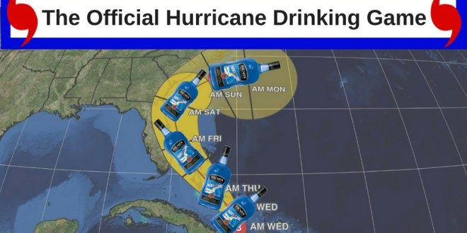 Florida hurricane drinking game
