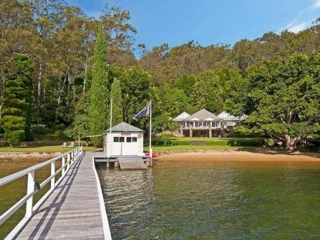 Beautiful house on Scotland Island, Pittwater