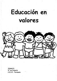 Cuadernos para trabajar los valores en Infantil y Primaria | Actiludis