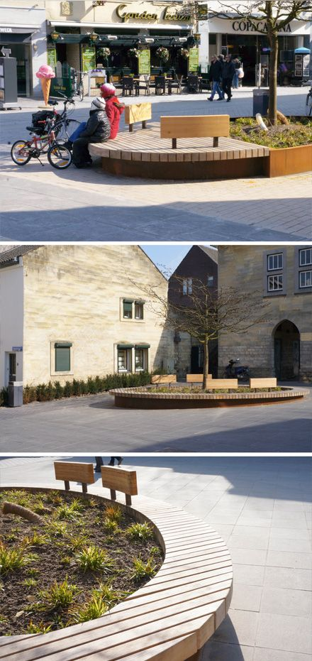 Custom made urban furniture by Grijsen, Valkenburg, Netherlands