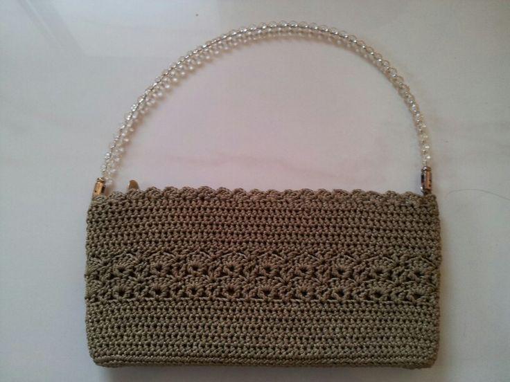 Crochet purse. Leesa Shah's creation