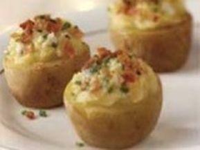 Rýchle plnené zemiaky