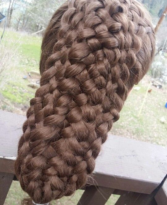 15 strand braid Check out @kc.hairstyles on instagram