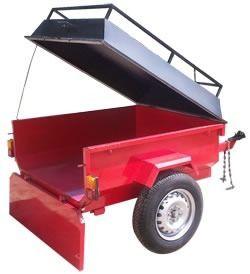 Batan - Trailer - Modelo Ke-400-w - 400 Kilos De Carga - $ 18.520,00