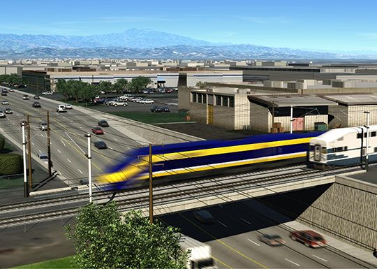 High-Speed Rail Plans Tunnels for SoCal's San Fernando Valley - SoCal Works