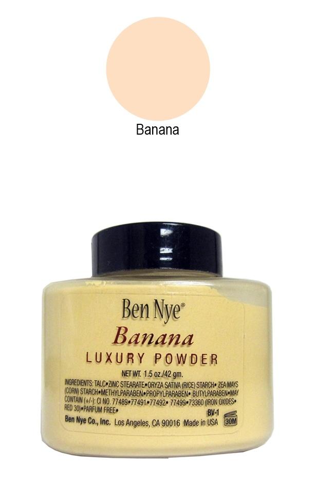I NEED this in my life!!    Ben Nye Banana Powder Makeup 1.5 oz Shaker | Ben Nye Bella Luxury Banana Powder