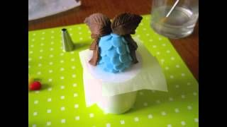 torte in pdz con gufi - YouTube