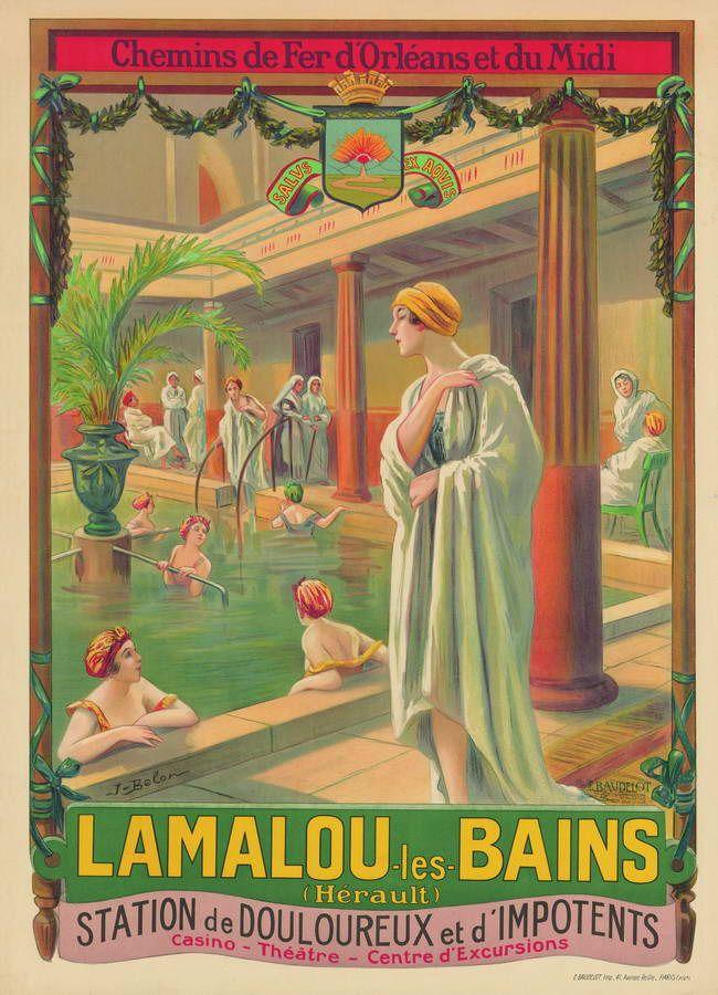 FRANCE Lamalou les Bains - p 155 Tour de France en Posters