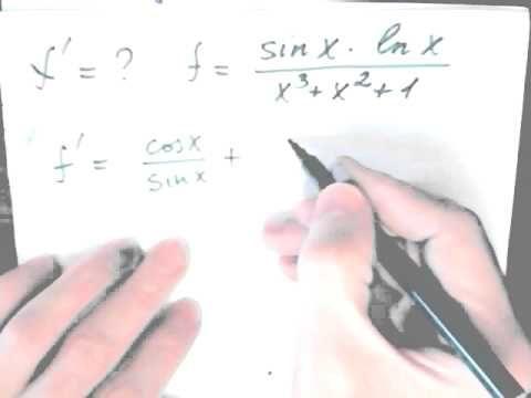 Математический анализ Как найти производную Быстрые методы решения задач  Высшая математика. Нахождение предела функции с помощью первого замечательного предела  5 типовых пределов. 4-ый из пяти (1 замечательный предел)