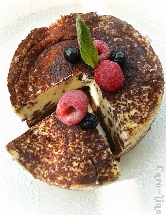 Petits Cheesecakes Stracciatella ...en portions individuelles