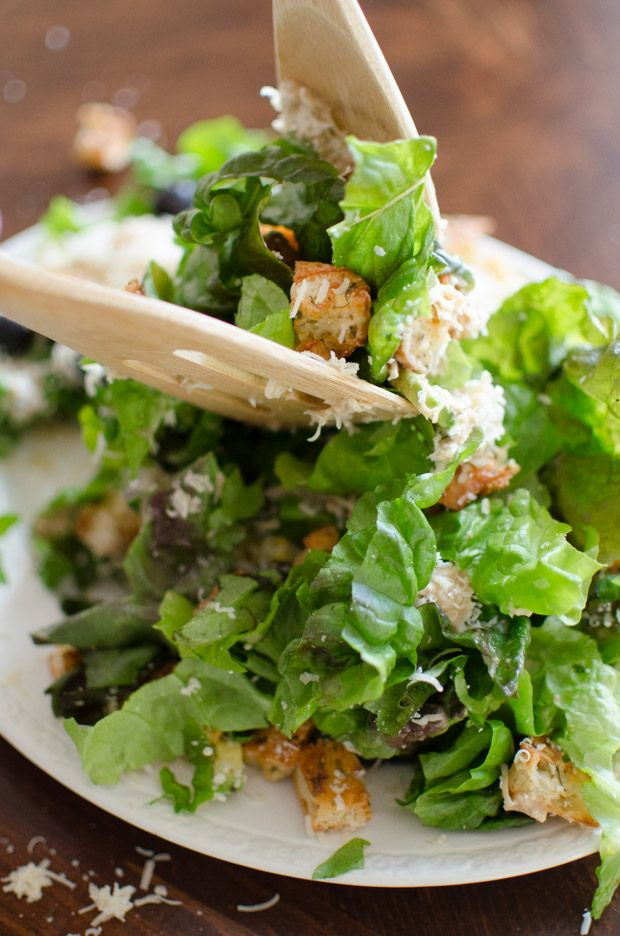 chicken caesar salad recipe no anchovies pizzeria
