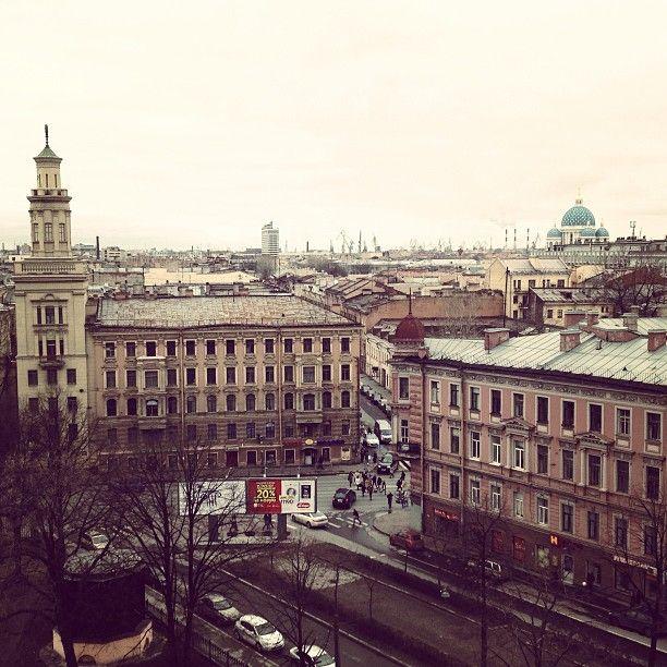 Sokos Hotel Olympia Gardenista aukeaa näyttävät maisemat Pietarin ydinkeskustaan. St Petersburg paikassa Санкт-Петербург
