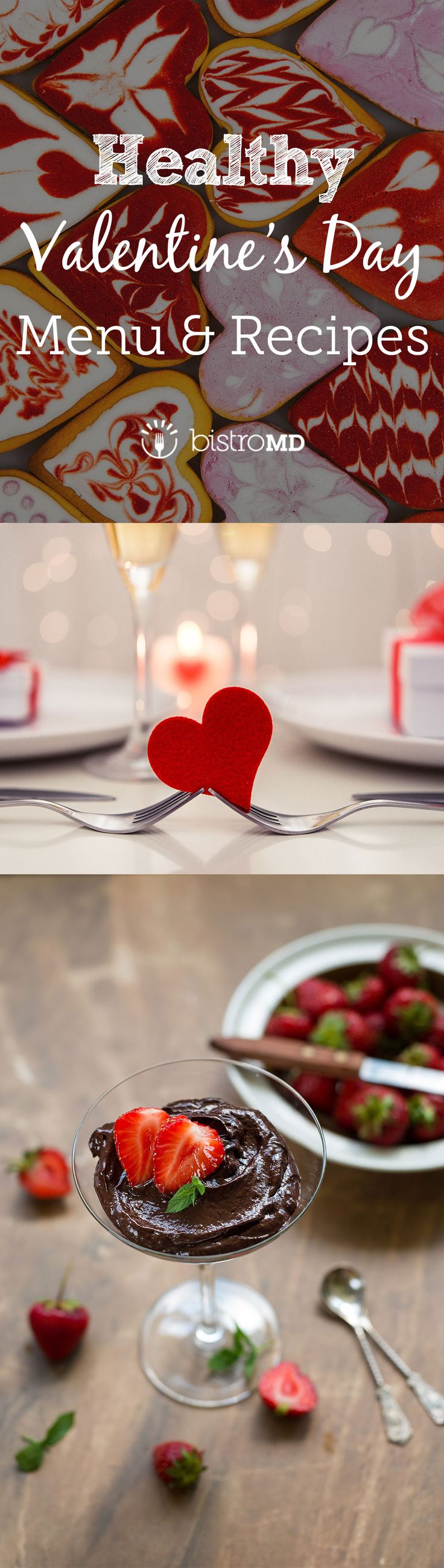 Skip the busy restaurant crowds and create an intimate night in from the comfort of your own home! From appetizers through desserts, fill your hearts without the guilt with this ultimate guide to building a healthy Valentine's Day dinner!