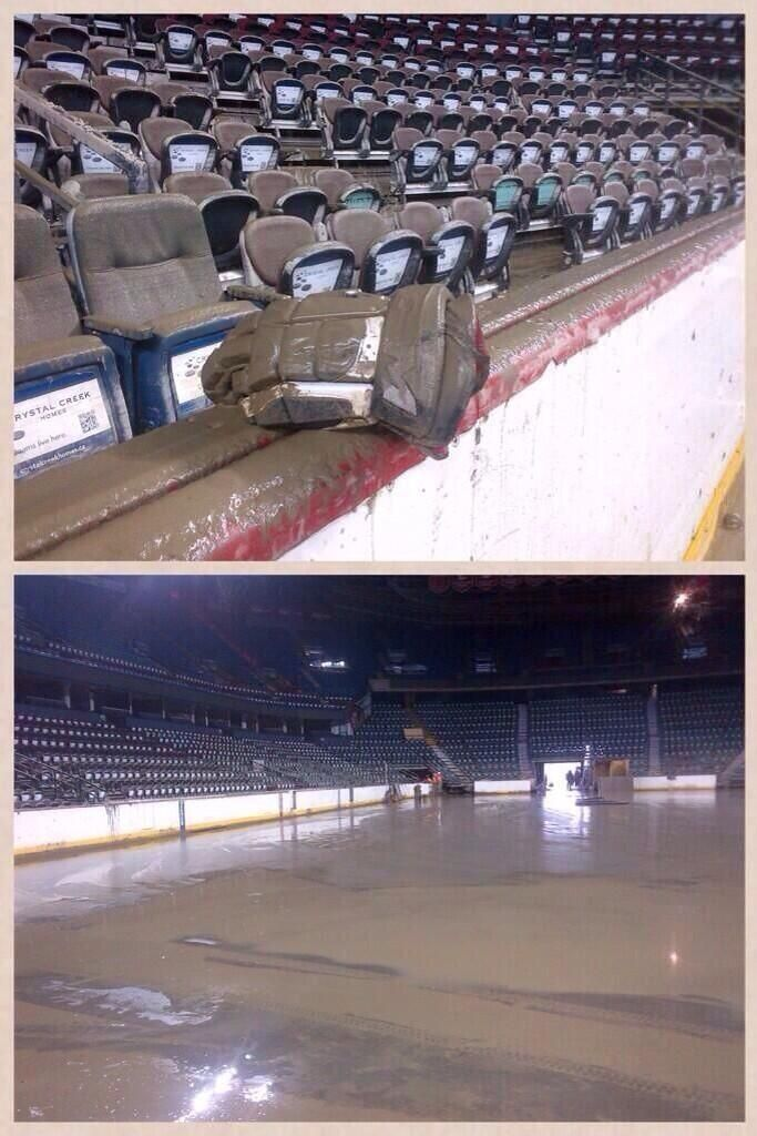 I am blown away by this. The Dome has pumped out every drop of water!!  #abflood! pic.twitter.com/kbPUZbWzim