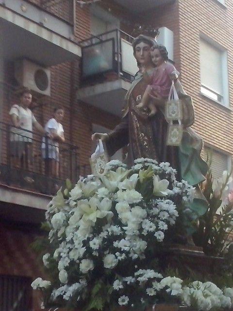 Virgen del Carmen 2015