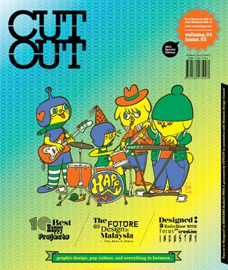 CUTOUT Magazine Graphic Design . Pop Culture . Everything In Between