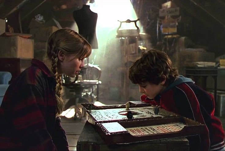Jumanji: Finish What You Started! Flashback to your own family friendly faves next movie night...Jumanji is still a great adventure film for kids.