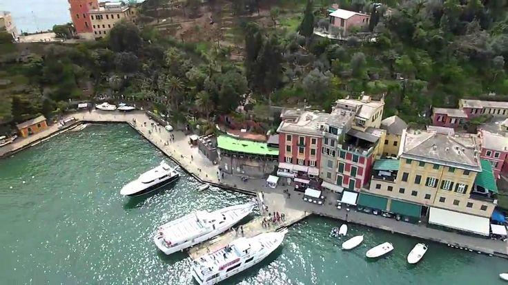 Portofino from the Sky.