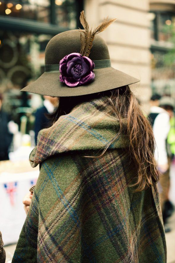 Tweed Ride Hat