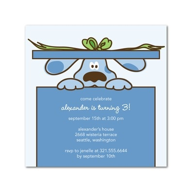 189 best images about Blues Clues birthday party theme – Clue Party Invitations