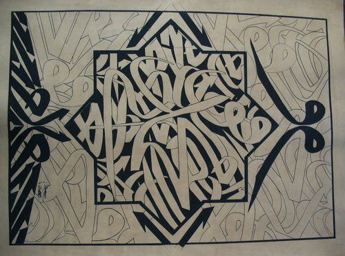 Graffiti Arabic Calligraphy Art Pinterest Alphabet