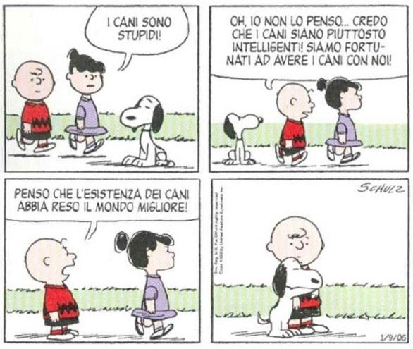 Snoopy e la gratitudine