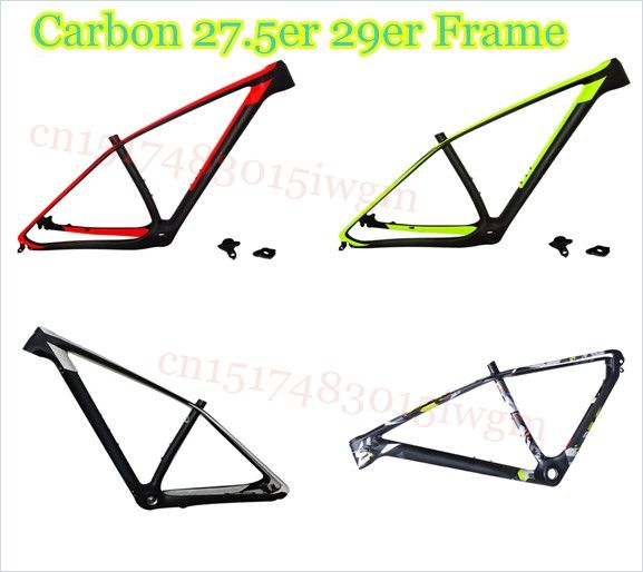 320.00$  Watch now - http://alihpa.shopchina.info/1/go.php?t=32773795659 -  T800 carbon mtb frame 29er/27.5er mtb carbon frame 650B 27.5/ carbon mountain bike frame bicycle frame 320.00$ #magazineonline