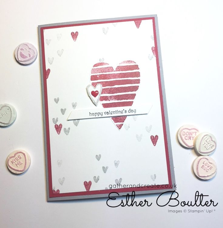 Heart happiness- Valentines Remarkable InkBig Blog Hop   Gather and create